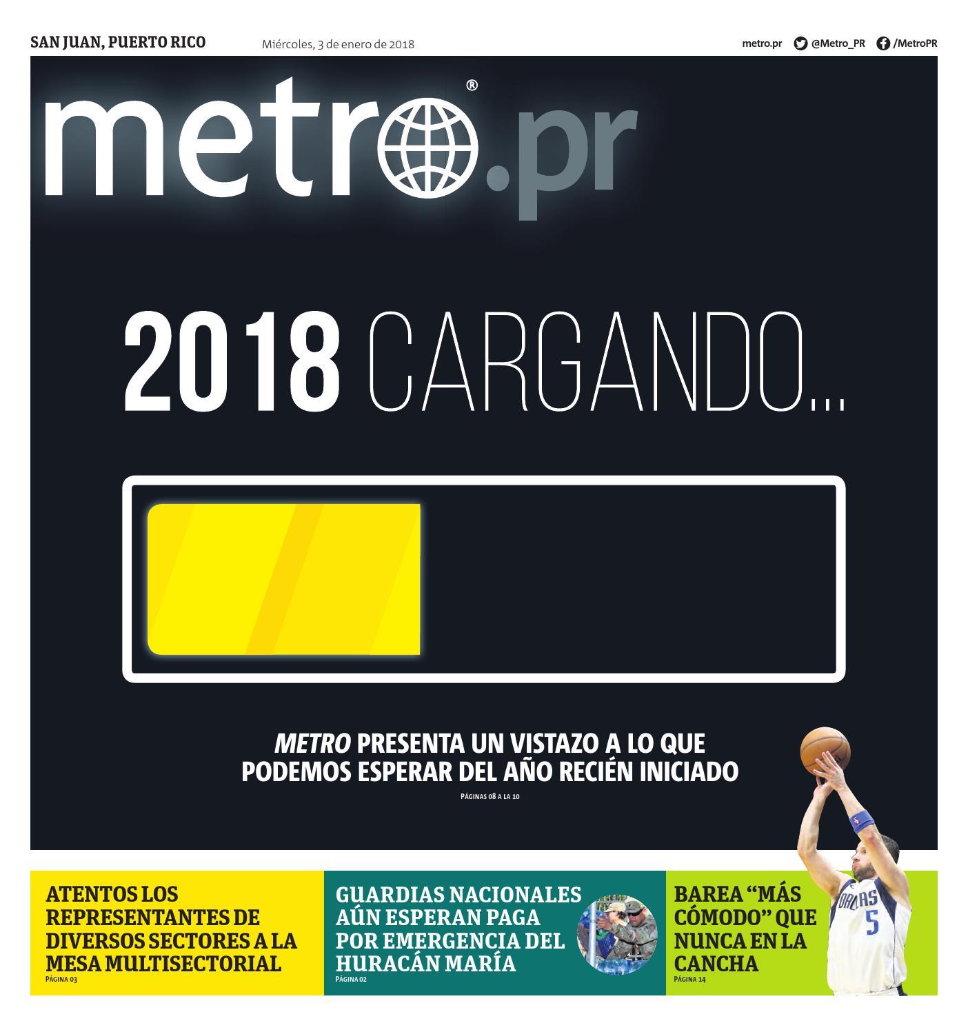 20180103 pr sanjuan by Metro Puerto Rico - issuu