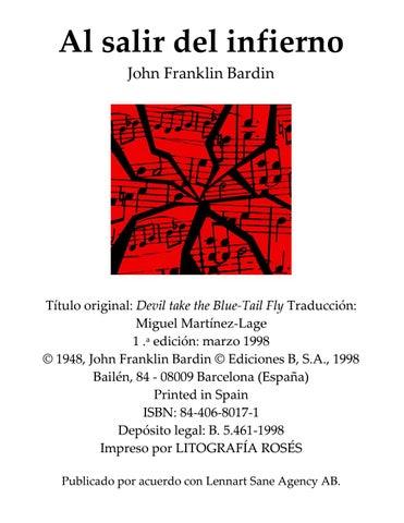 Bardin john franklin al salir del infierno by Fco Chavez - issuu