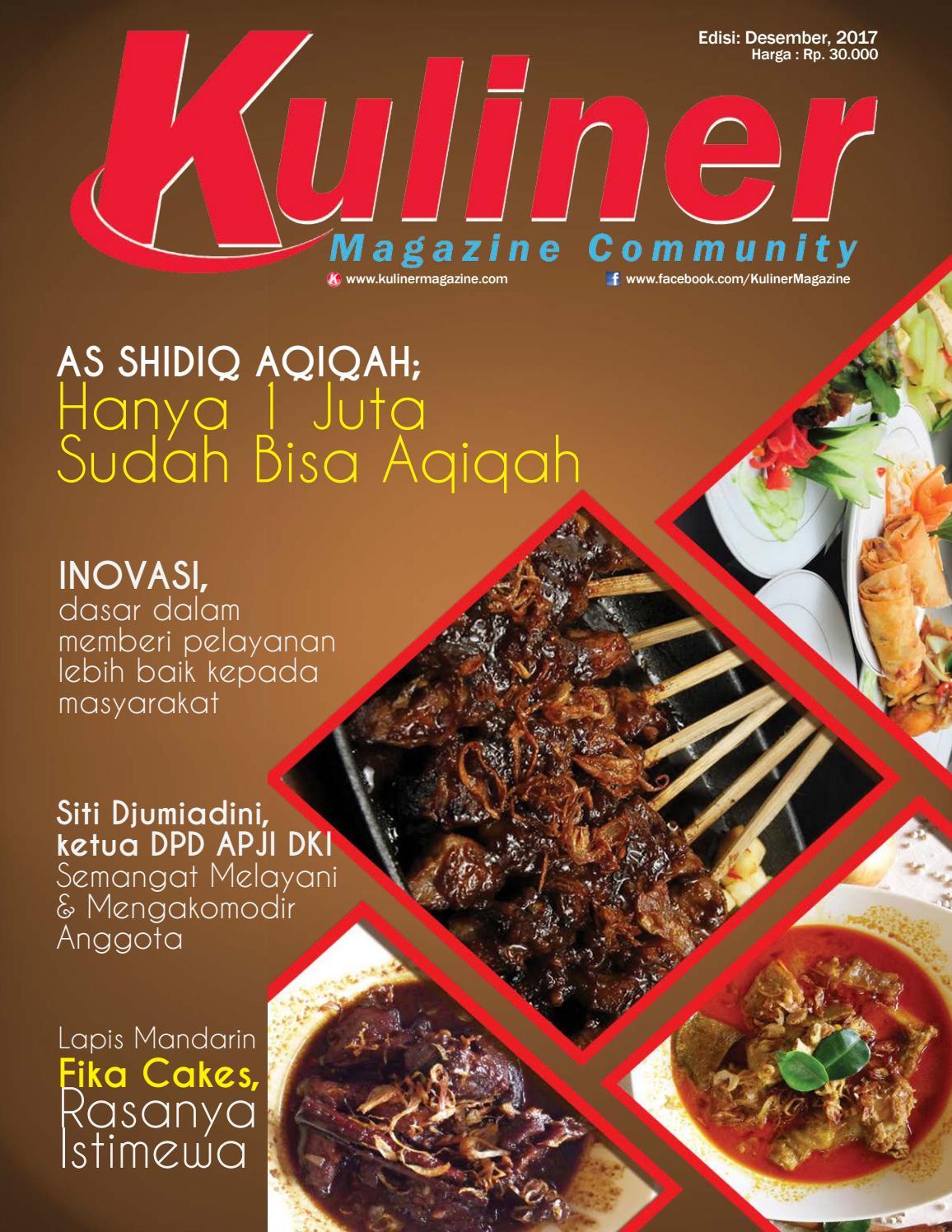 Majalah Kuliner Magazine By Kuliner Magazine Issuu