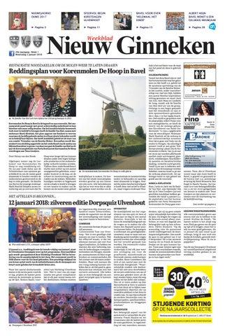 Weekblad Nieuw Ginneken 03-01-2018 by Uitgeverij Em de Jong - issuu