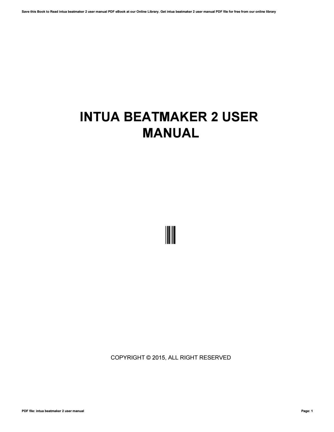 Beatmaker 2 tutorial.