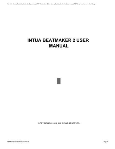 Intua beatmaker download.