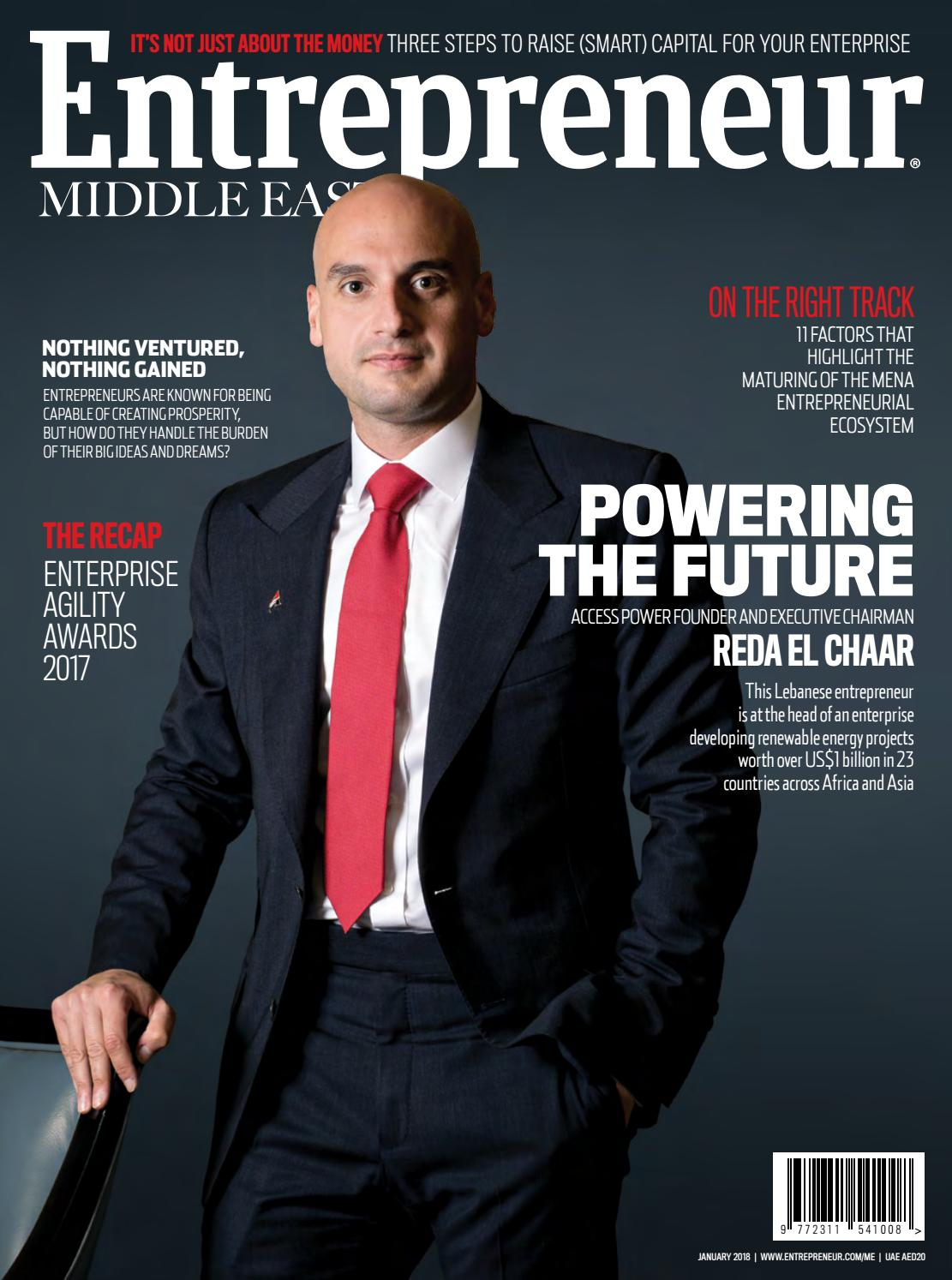 Entrepreneur Middle East January 2018 Powering The Future By Chairman Utility Chair Uc 506 Issuu