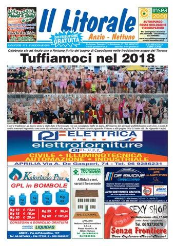 Il Litorale - Anno XVIII - N. 1 - 1 15 Gennaio 2018 by Il Pontino Il ... 99be4fb9770