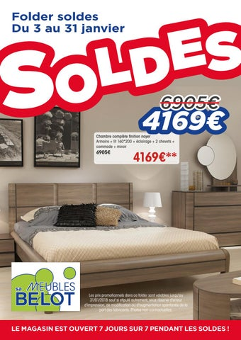 Belot Folders Soldes Janvier 2018 By Meubles Belot Sa Issuu