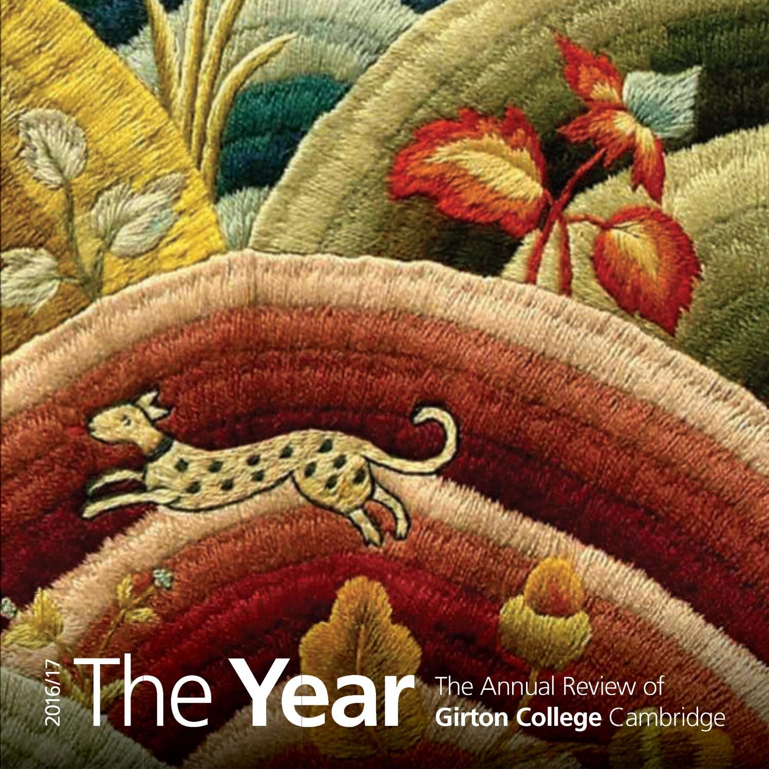 The Year 2017 By Girton College Issuu Creative Science Centre Dr Jonathan P Hare