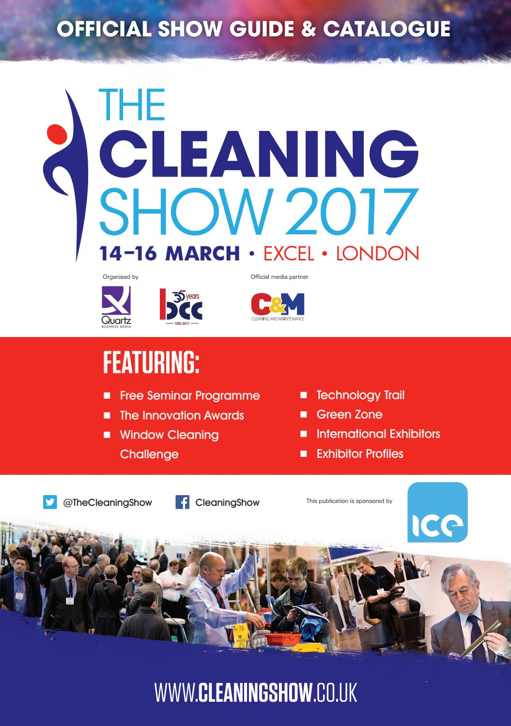 The Cleaning Show Official Show Guide 2017 by Quartz Business Media - issuu