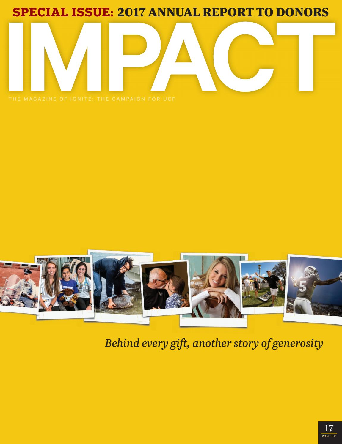 Impact Winter 2017 18 By Ucf Foundation Inc Issuu Electrical Engineering 4 Year Plan