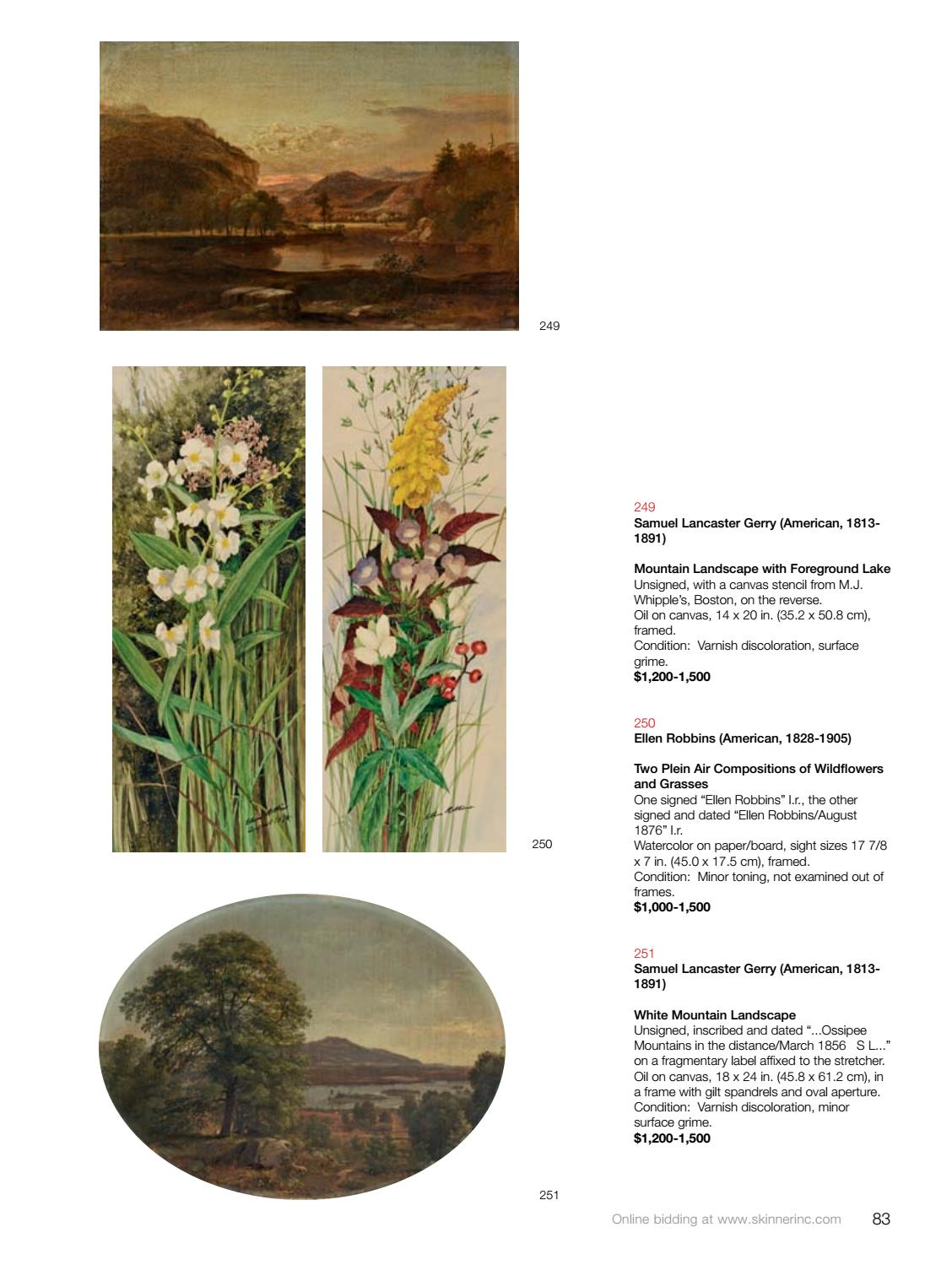 American & European Works of Art | Skinner Auction 3072B by