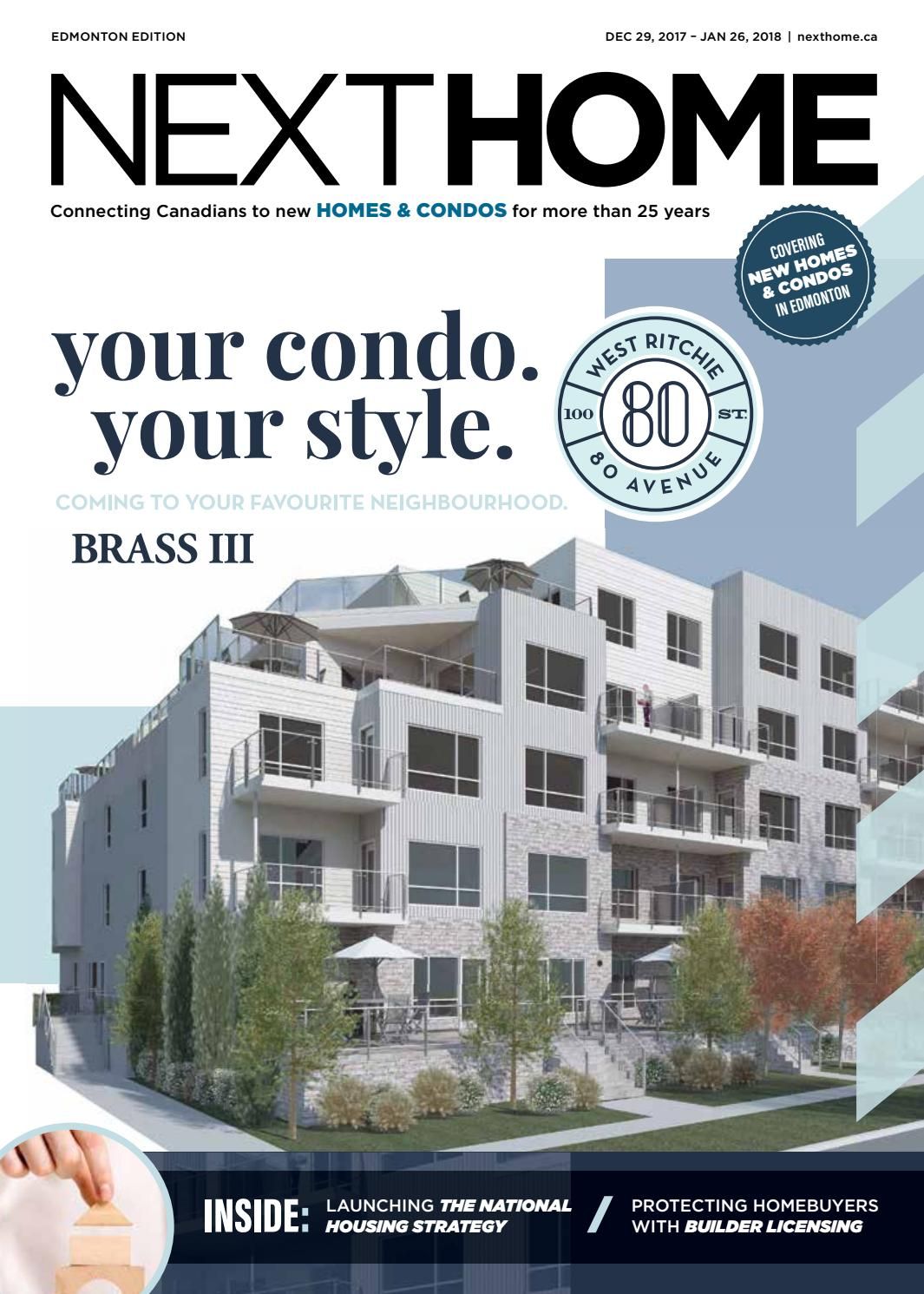 Edmonton New Condo Guide - Dec 29, 2017 by NextHome - issuu