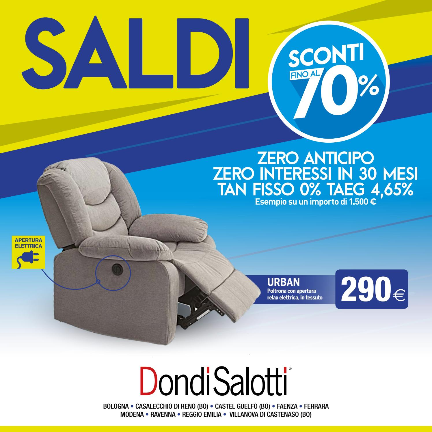Dondi salotti saldi 2018_inverno by Michele Travagli - issuu