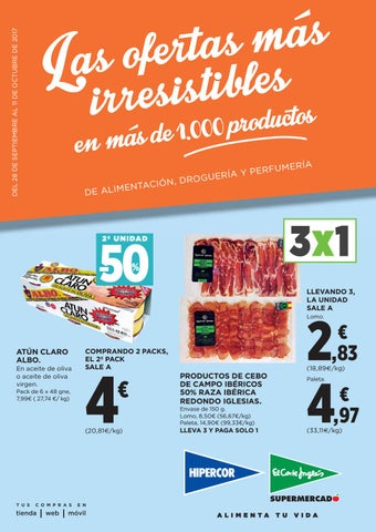 f35d84408cd Hipercor/El Corte Inglés Las Ofertas Más Irresistibles en Más 1000 Productos