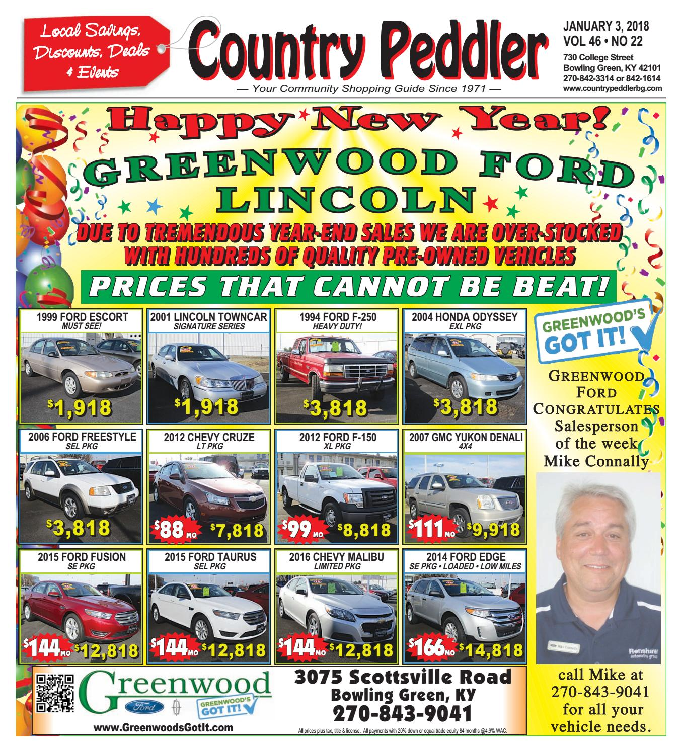 2015 Ford Taurus Se: Country Peddler 01.03.2018 By Country Peddler