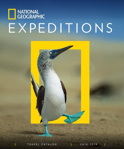 2018-2019 National Geographic Expeditions Catalog by