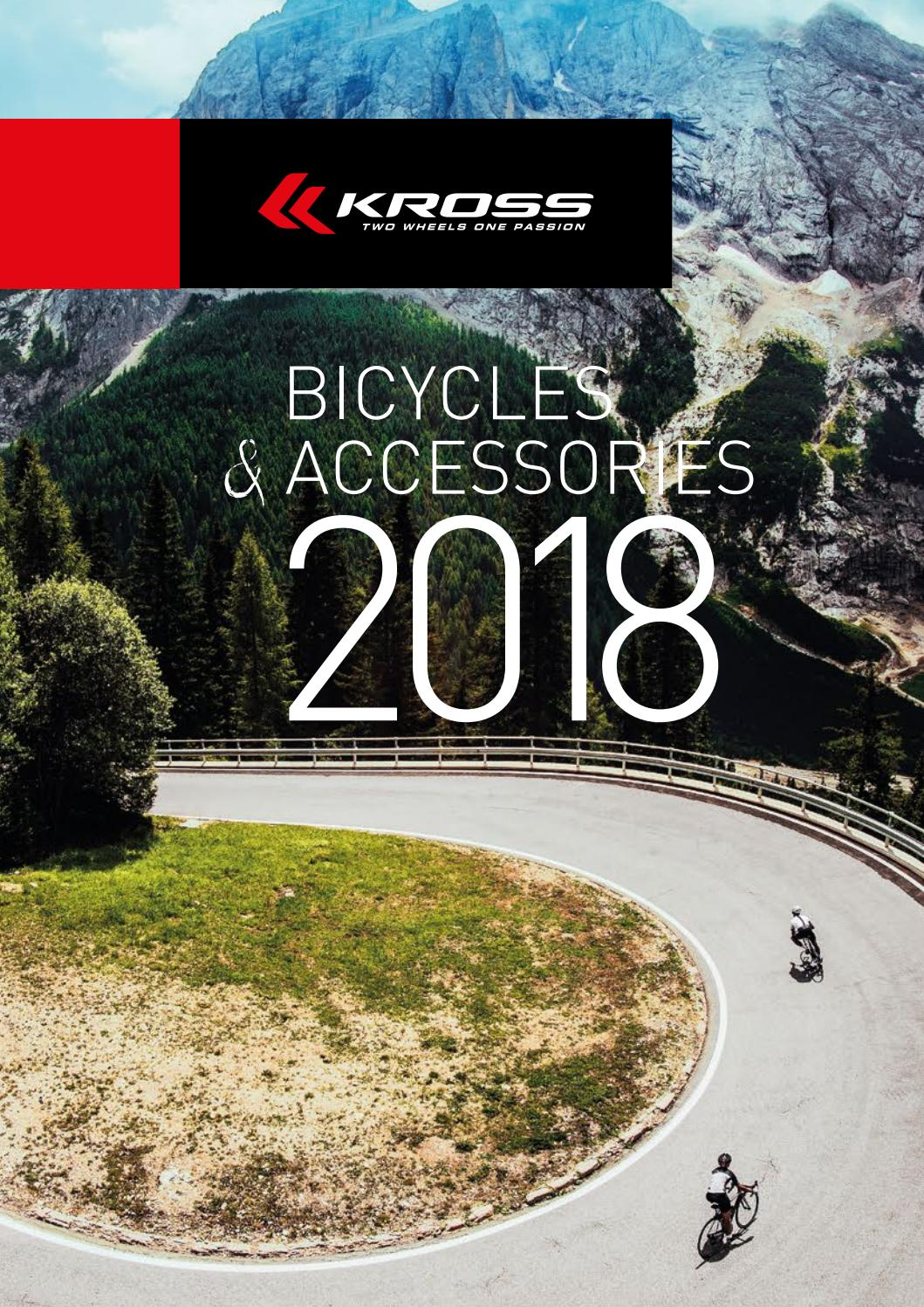 c9f4227f8e6 Kross Bicycles   Accessories 2018 catalog by Kross - issuu
