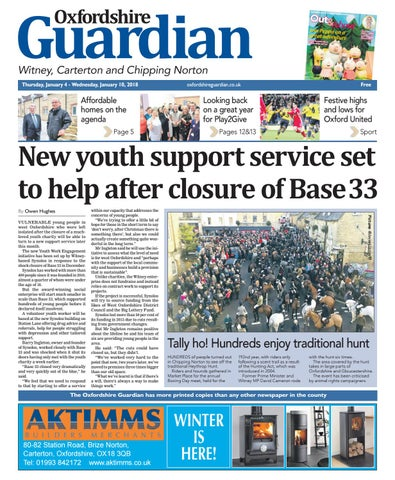 c334d6e96df8c0 22 february 2018 oxfordshire guardian witney by Taylor Newspapers ...