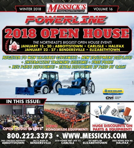 Powerline v16 - Messicks 2018 Open House Edition by Messick's