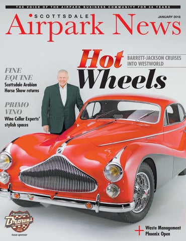 Scottsdale Airpark News January By Times Media Group Issuu - Westworld scottsdale car show