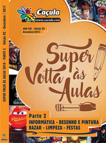 f3be6c8d3fc80 Catálogo Caçula, Edição 92   PARTE 2 - Super Volta às Aulas by ...