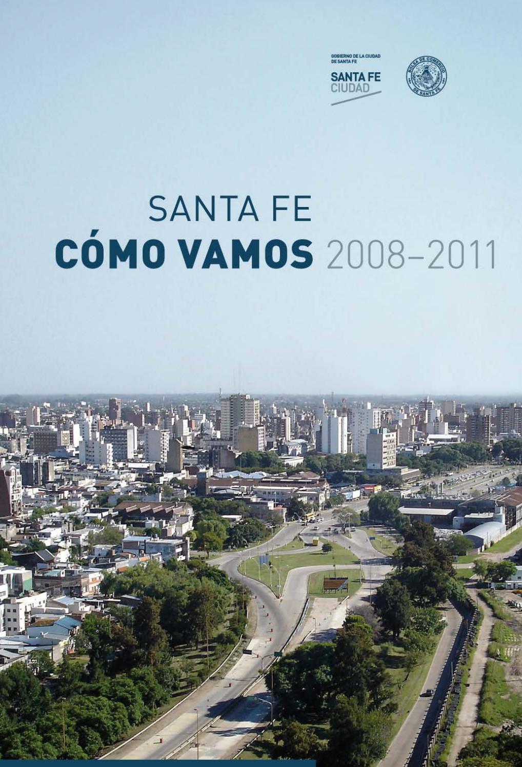 Santa Fe Cómo Vamos 2008 2011 By Santa Fe Ciudad Issuu