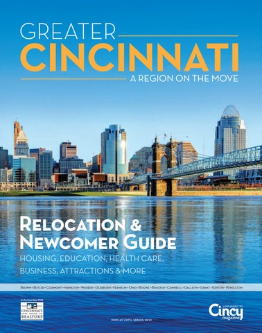 2516be9d3c Greater Cincinnati Relocation   Newcomer Guide by Cincy Magazine - issuu