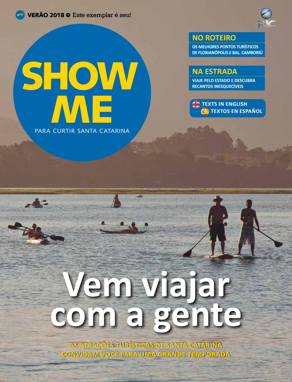 5515d2db2 Revista Show Me - Verão 2018 by RICTV Record Santa Catarina (RICTV Record)  - issuu