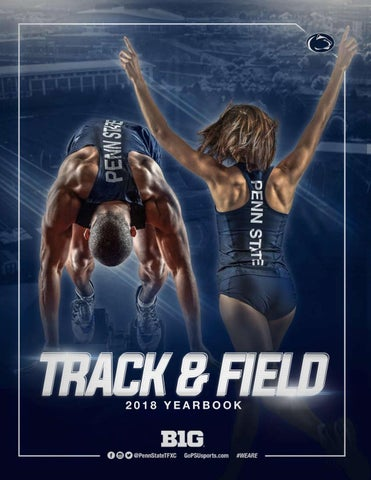 2017-18 Penn State Track & Field Yearbook by Penn State