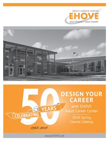 Ehove2018springcatalog by EHOVE Adult Career Center - issuu