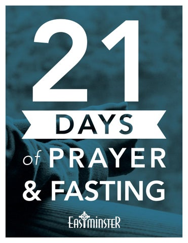 Dear Student For The Last Few Years We Have Entered The New Year With 21 Days Of Prayer And Fasting And My Prayer Is That You Will Join Me On This Journey