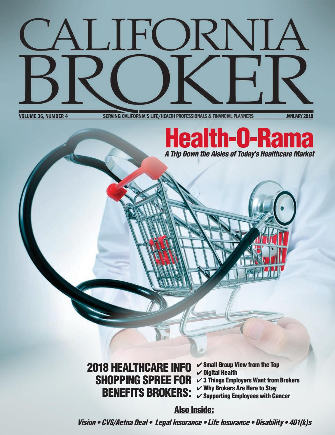 California Broker January 2018 Edition by California Broker