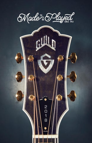 After A Short Hiatus Guild Is Making Acoustic Guitars In The USA Again Theyre Some Of Best Acoustics We Have Ever Produced