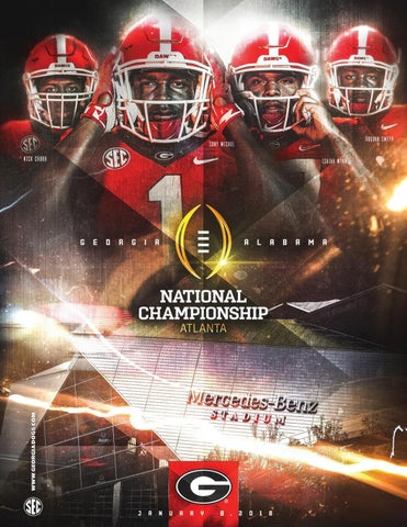 a17348eb 2018 Georgia Football National Championship Media Guide by Georgia ...