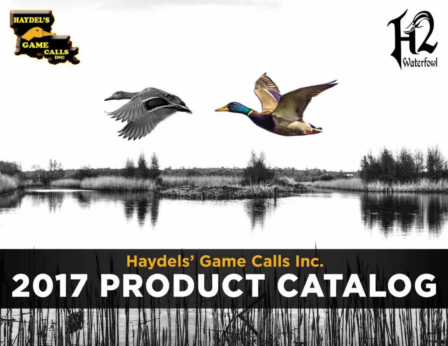 Haydels Javelina Hog Acrylic Predator Game Call Effective Sound Clear J89