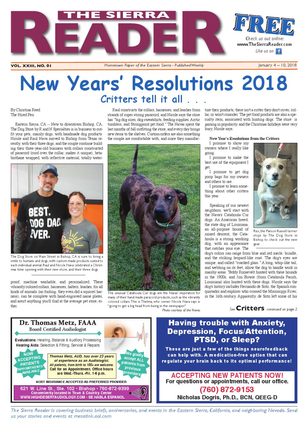 The Sierra Reader January 04 2018 By Issuu 2004 Volkswagen Jetta Coolant Ing