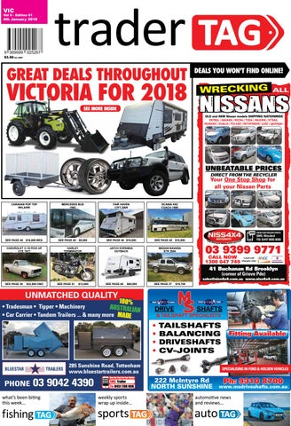 Tradertag victoria edition 01 2018 by tradertag design issuu page 1 sciox Gallery