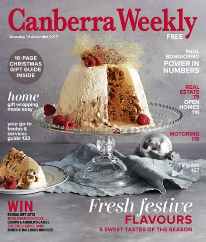 20d54a832c4 14 December 2017 by Canberra Weekly Magazine - issuu