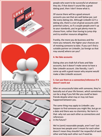 Kann linkedin als Dating-Website verwendet werden
