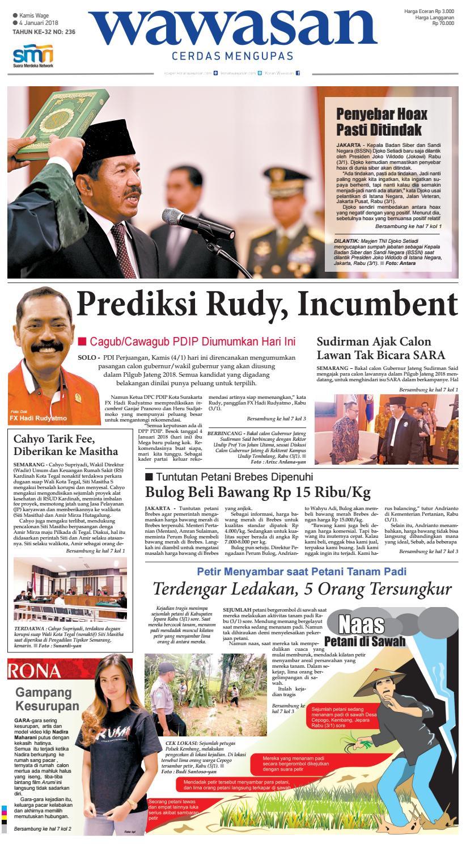 WAWASAN 04 Januari 2018 by KORAN PAGI WAWASAN - issuu