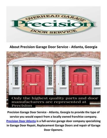 Precision Door Service In Atlanta 404 410 1066 By Precision