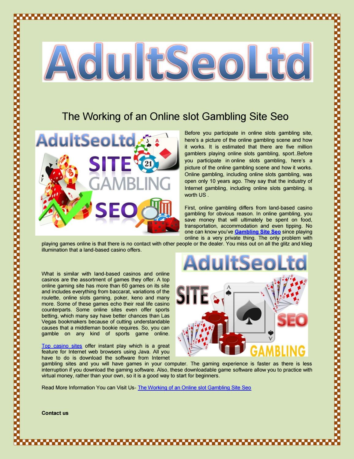 Online Casino Search Engine Optimisation Plans - Learn With golden crown AU