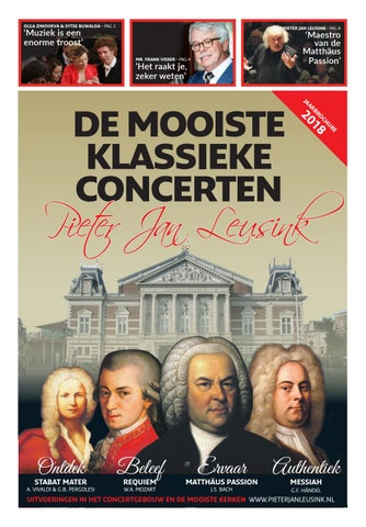 klassieke concerten nederland