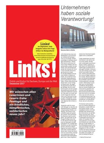 LINKS! 12/2017 by LINKS! Politik und Kultur für Sachsen, Europa und ...