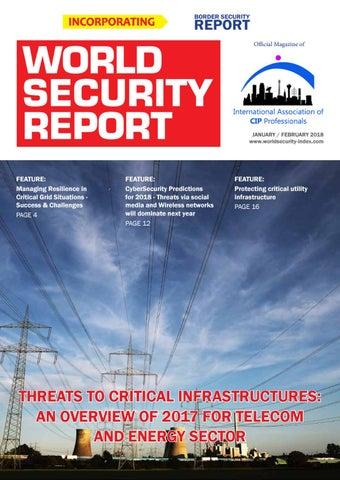 World Security Report Jan/Feb 2018 by torchmktg - issuu