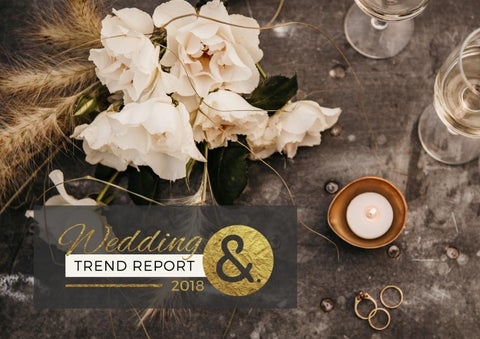 cd63978c734 International Wedding Trend Report 2018 by International Academy of ...
