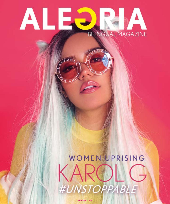 ALEGRIA Women Uprising 2018 (Winter) by ALEGRIA Bilingual Magazine ...
