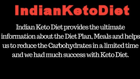 Keto diet plan indian