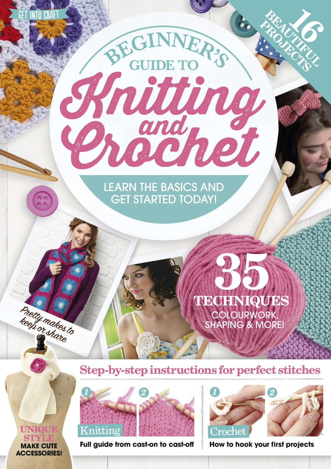 9bb215044657 Beginners Guide to Knitting and Crochet by Immediate Media Co ...