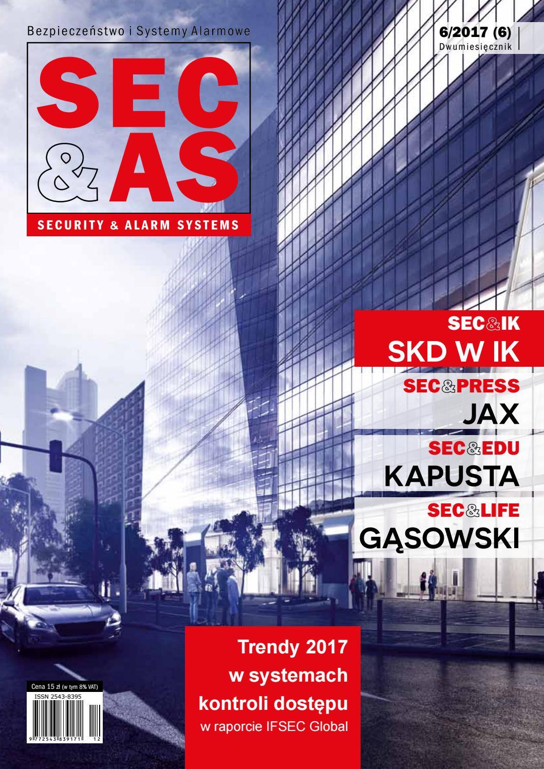 a26b392e950ca SEC&AS (SECURITY & ALARM SYSTEMS) 6/2017 (6) by PISA (Polska Izba Systemów  Alarmowych) - issuu