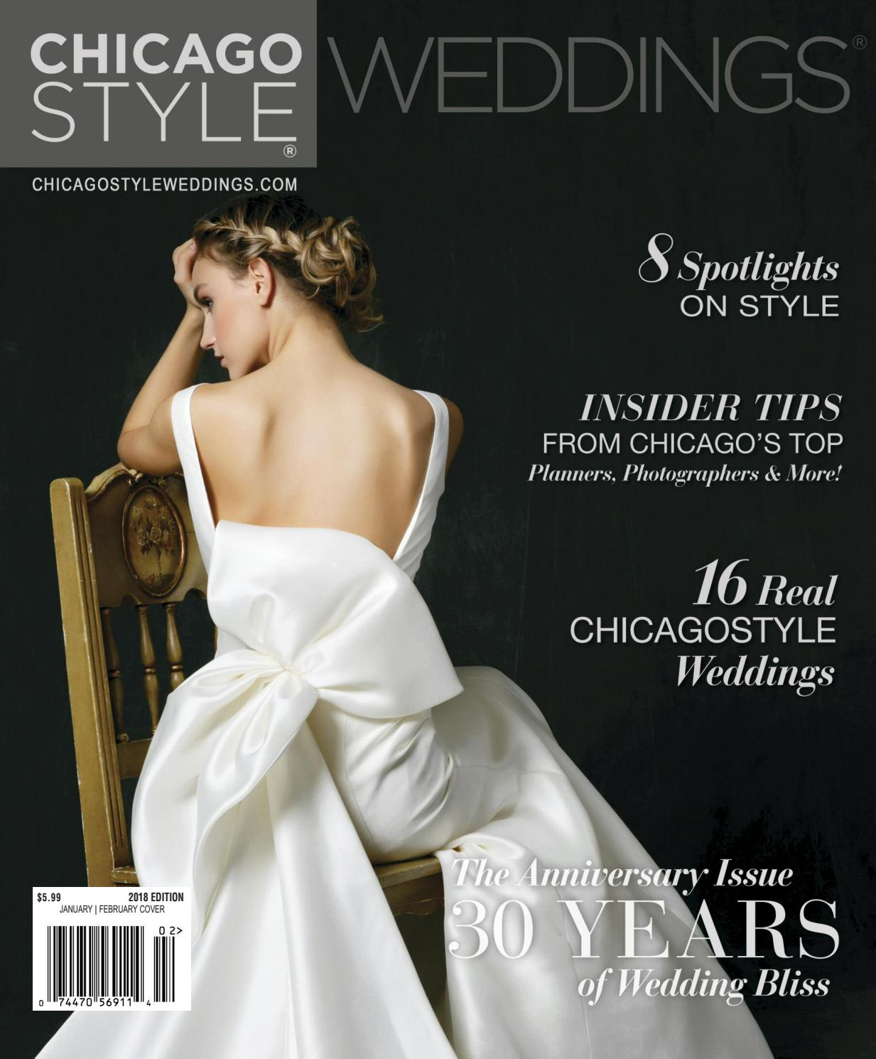Chicagostyle Weddings 2017 2018 By Chicagostyle Weddings Issuu