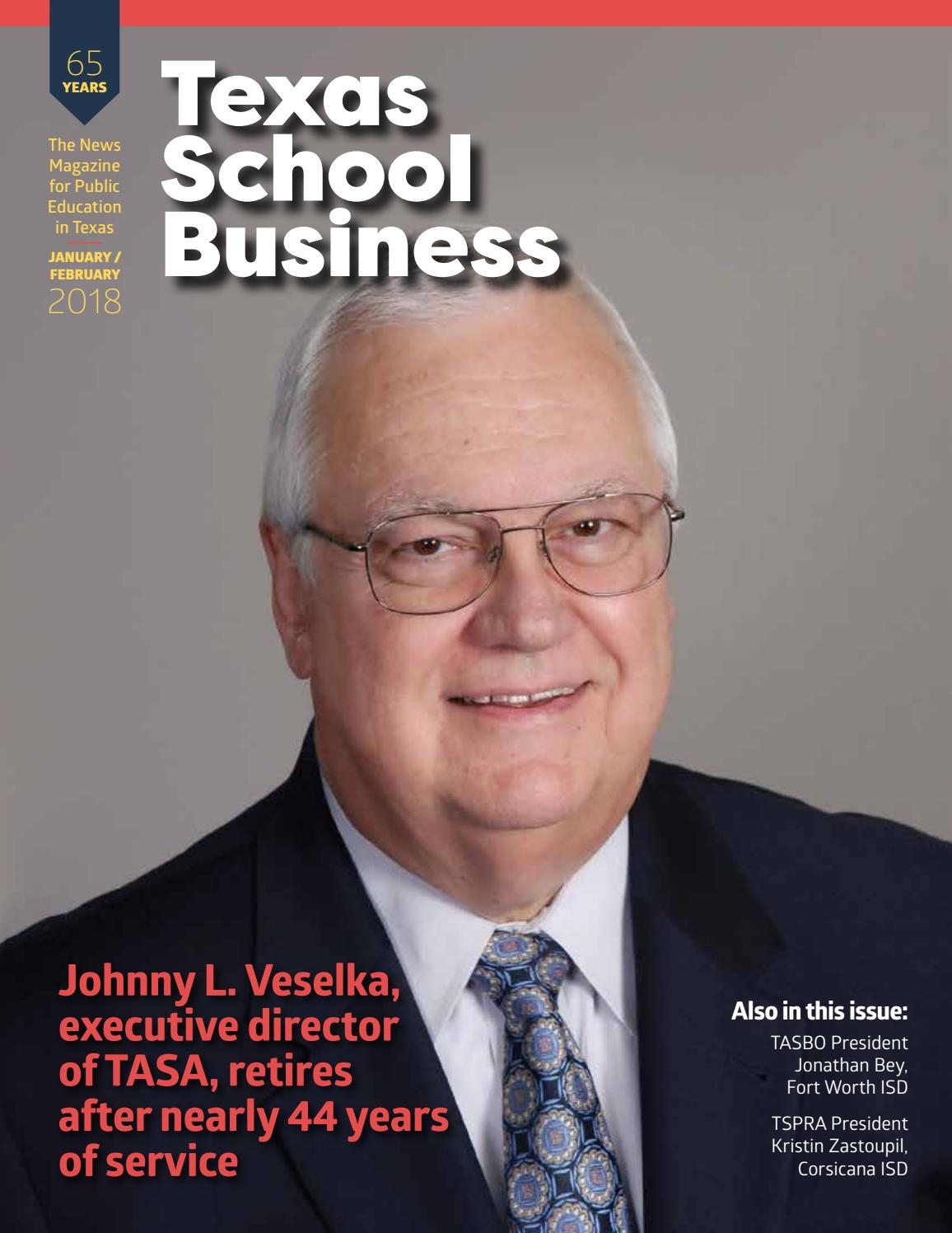 TSB—January/February 2017 by Texas Association of School